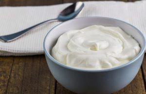 Grekisk yoghurt innehåller värdefulla bakterier som har en positiv effekt på hela matsmältningssystemet
