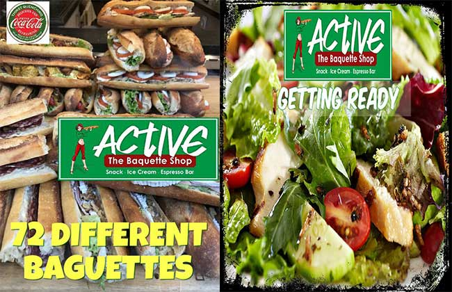 Active sandwich bar