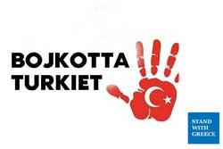 EU bör införa sanktioner mot Turkiet, totalt exportstopp av vapen, och EU-medborgare bör bojkotta Turkiet som resmål.